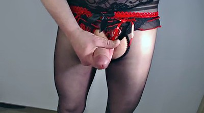 Nylon handjob, Skirts