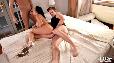 Mature group, Mature threesome, Mature anal sex, Mature anal group