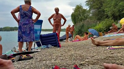 Grandpas, Nudist beach, German grandpa, At the beach