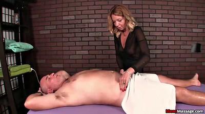 Femdom, Domination, Femdom handjob, Mature woman, Mature handjob, Massage mature