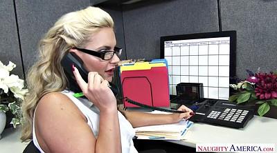Office mature, Blonde mature, Anal milf